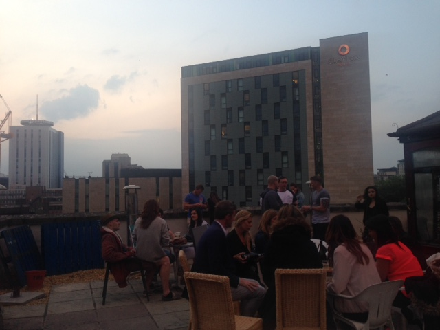 rooftop cinema the departed people shot