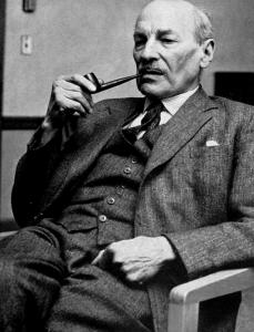 Former Prime Minister Clement Attlee