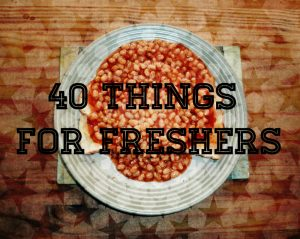 Beans on toast for freshers article