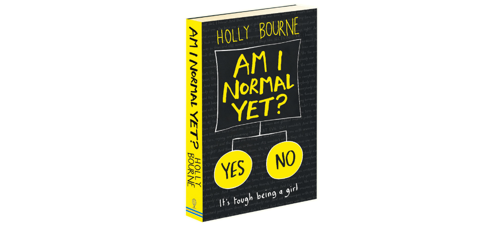 Am I Normal Yet book cover for review