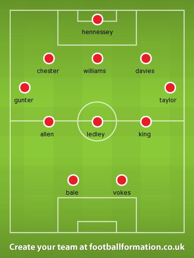 Wales line-up Austria