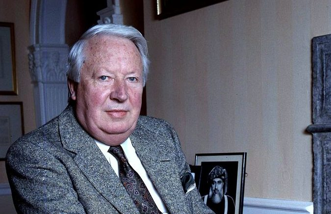 Edward Heath in 1987