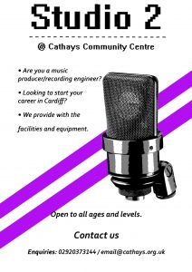 Studio 2 Project at Cathays Community Centre poster