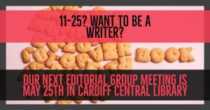 Next editorial group meeting is 25th May 20117 SEG FB
