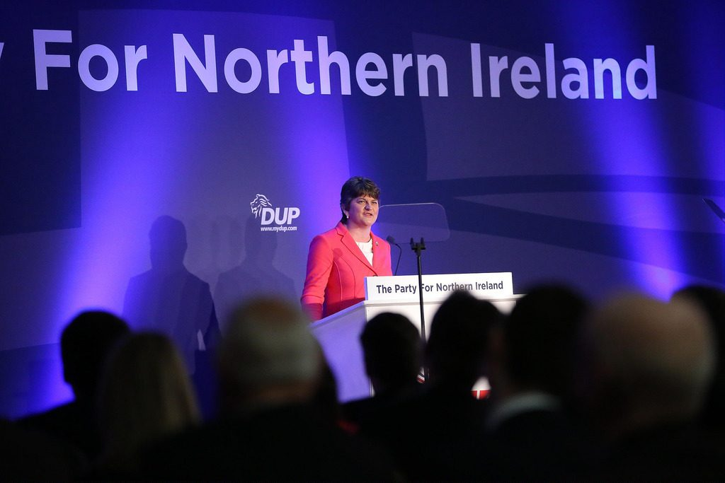 Arlene Foster for confidence and supply article