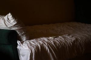 Book and bed for Fluidity, new creative writing series on TheSprout.co.uk