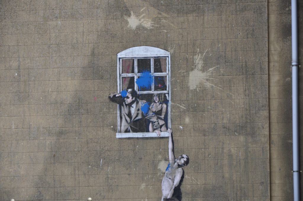 Banksy in Bristol