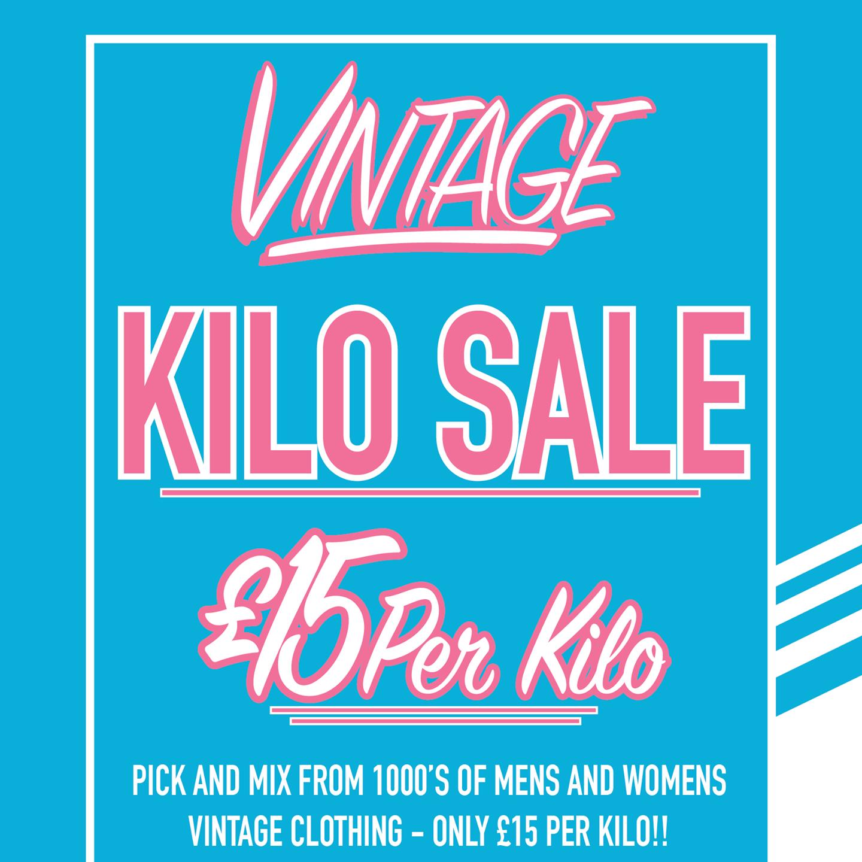 vintage kilo sale cardiff logo