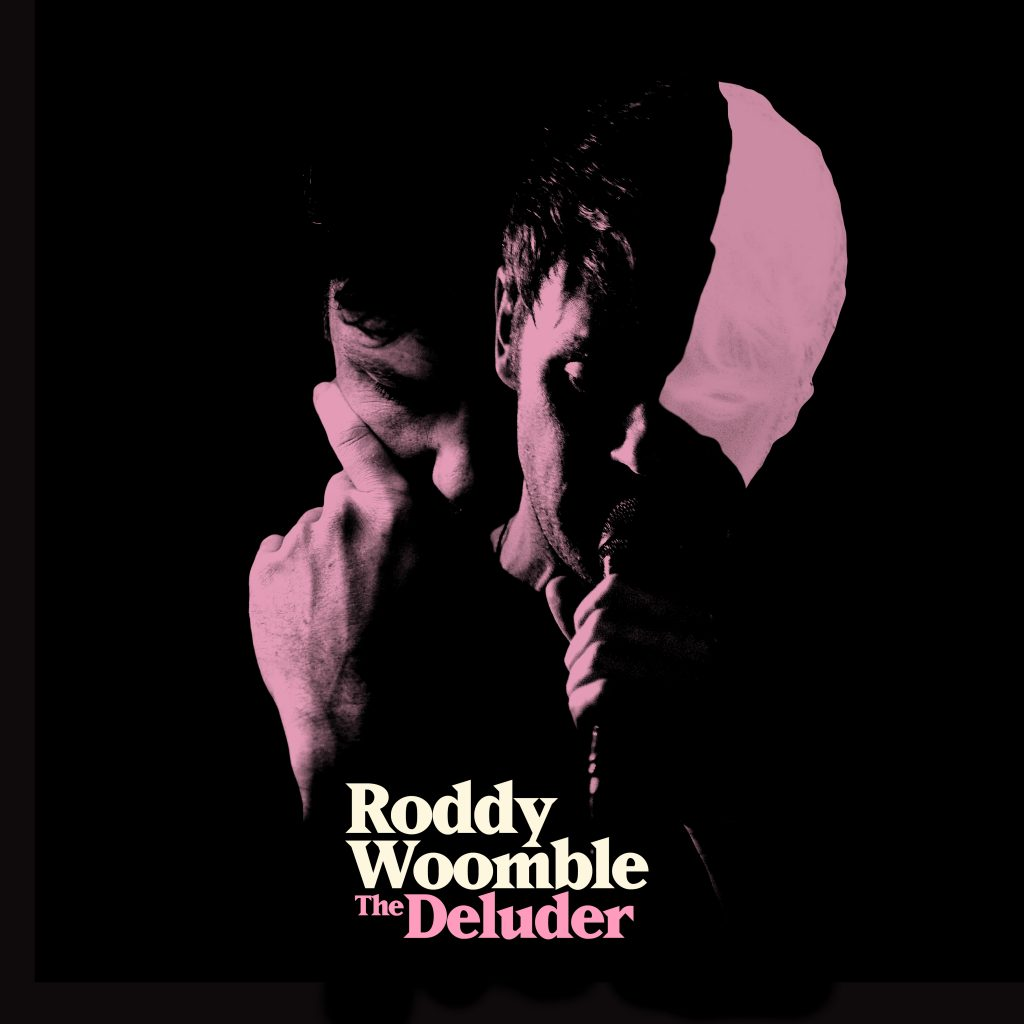 Roddy Woomble - The Deluder cover (with text)