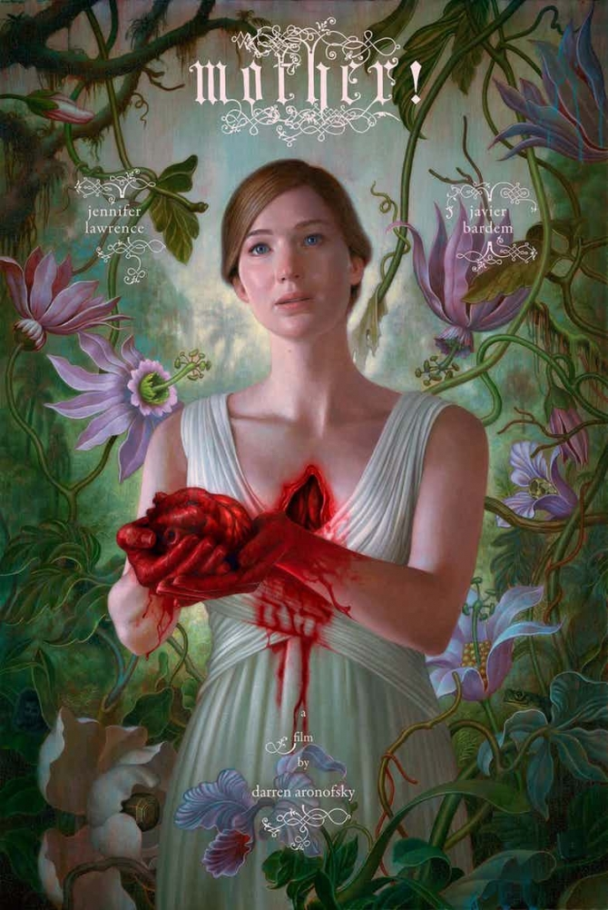 Official Movie Poster for Mother!
