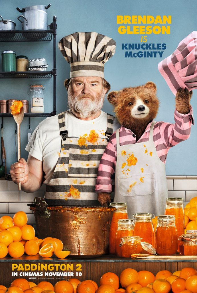 Paddington 2 Film Poster with Brendan Gleeson