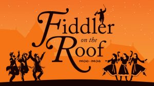 Fiddler on the Roof banner by the Everyman Theatre Company