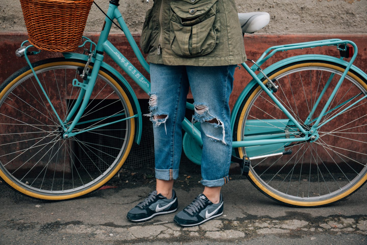 Woman with Bike- Alisa Anton on Unsplash