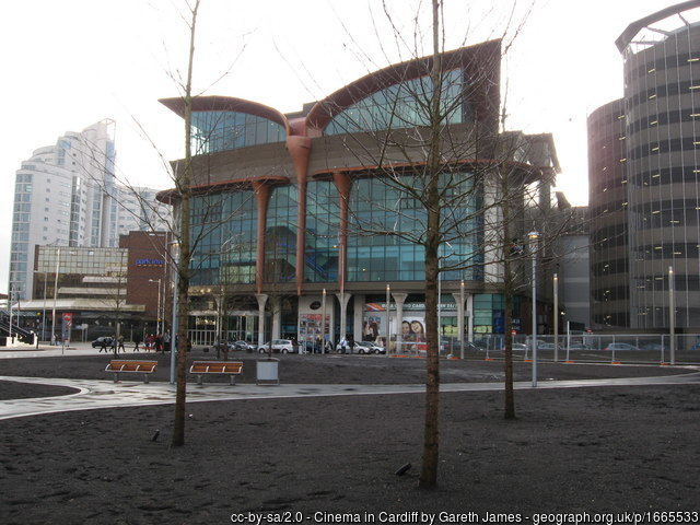 Cineworld Cardiff in 2010 - Gareth James on geograph.org.uk
