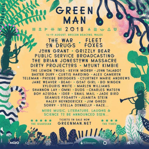 Greenman lineup