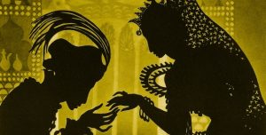 Screenshot of The Adventures of Prince Achmed by Lotte Reiniger (1926) for Cardiff Animation Nights Review