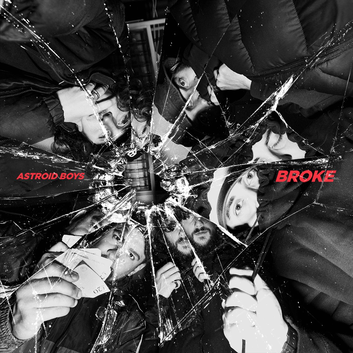 Astroid Boys Broke Album Cover