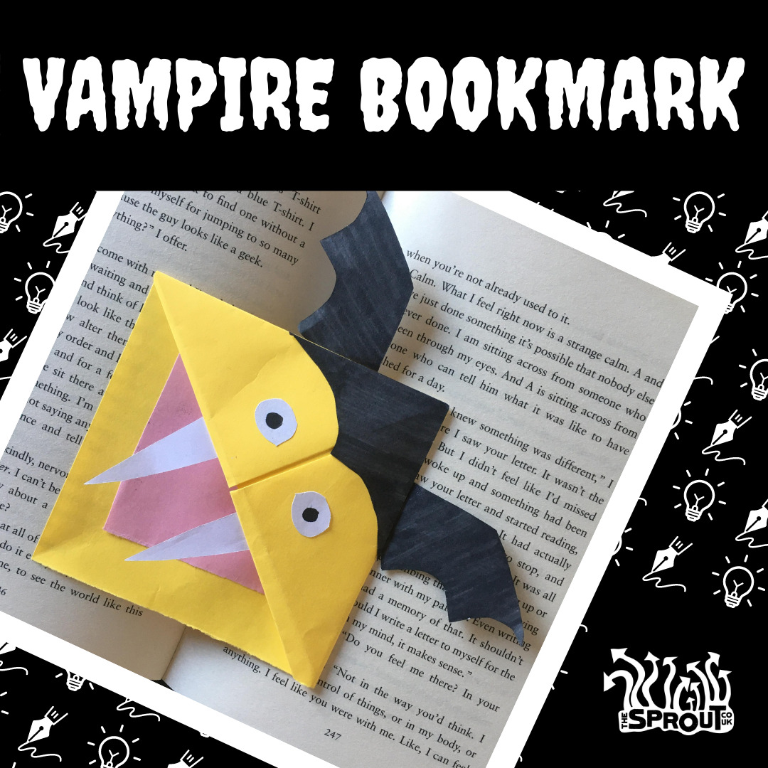 Vampire Bookmark Example