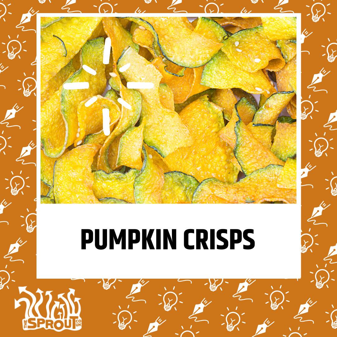 Pumpkin crisps