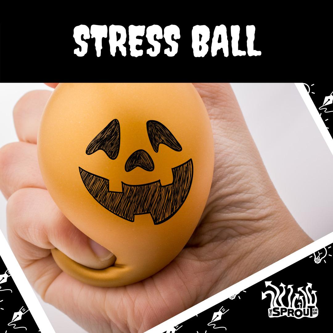 Pumpkin Stress Ball Example
